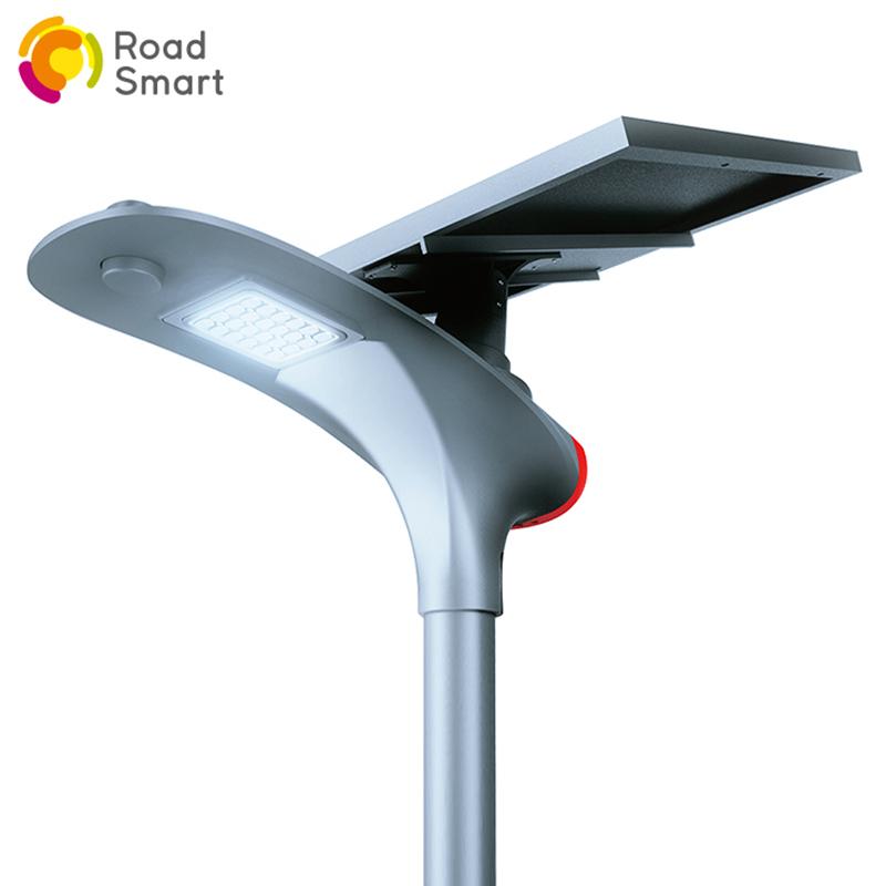 Modern High Lumen Solar Plaza Light