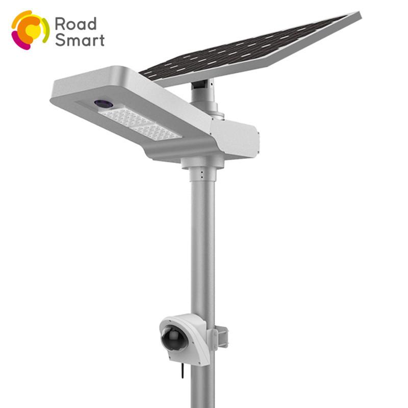 Integrated Solar Street Light with Camera